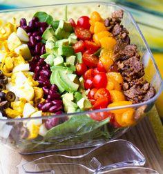 Vegan Cobb Salad #vegan