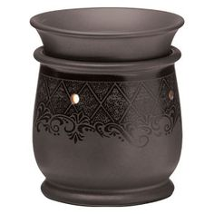 Graphite MID_SIZE scentsy warmer.... Like this purchase today and like my facebook fan page:    https://www.facebook.com/media/set/?set=a.10150364570080344.604384.555635343&type=3#!/pages/Ashley-Nichols-Independent-Scentsy-Consultant/297557330292599