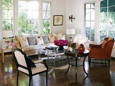 living room mix(via C magazine, Getty home)