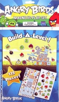 Angry Birds Magnetic Play Set