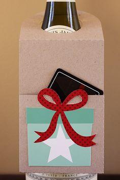 bottle + gift card