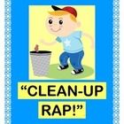 """Add a GROUP GAME to your CLEAN-UP TIME!  ADD SOME ACTION!  """"Clean up the room! Going BOOM, BOOM, BOOM!""""  A few claps and stomps can really 'pump up' those daily chores!  Your kids will actually look forward to Clean-Up Time when you add Rhythm, Rhyme, and Humor!  The 10 easy verses let your kids CREATE RHYMES FROM CONTEXT CLUES.  Great for school, home, church, or Scouts.  Good things happen when we work together!  COOPERATION ROCKS!  (5 pages)  From Joyful Noises Express TpT!  $"""