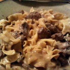 Betty Crocker's Beef Stroganoff