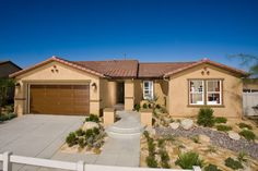 The 1630M Plan by KB Home. Bellas Rosa at Las Haciendas Community. Victorville, CA. 4 bedrooms, 2 baths, 2 car garage with solar panels on all homes. 1,630 sq. feet. From $148,980.