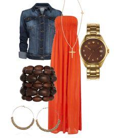 Boho games, maxi dresses, fall fashions, football, cloth, maxis, fall outfits, orange maxi dress, earli fall
