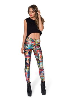 Who Done It? Leggings - LIMITED › Black Milk Clothing