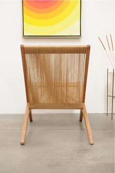 #nordicdesigncollective Rope Chair