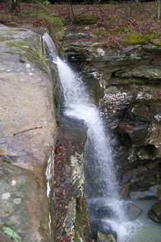 Burden Falls in Shawnee National Forest.. my favorite place to hike and never a lot of people!