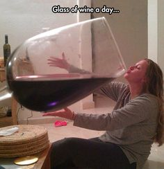 """The Doctor said, """"Just a Glass""""!"""