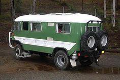 4x4 bedford bus camper.