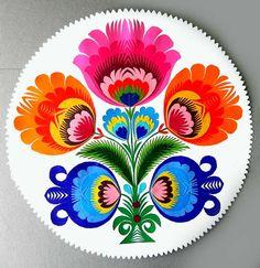 awesome polish cut-paper folk art