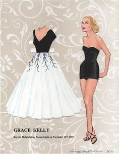 mycool – moda, música, arte, cinema e cool hunting » Blog Archive » Paper dolls com glamour  collection of originals found at the artist's facebook site: https://www.facebook.com/pages/Paper-Dolls-Models-Movie-Stars-Gregg-Nystrom/143143895716868