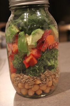 jar salad - easy meal planning