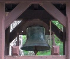 The Memorial Bell Tower at Camp #Yawgoog. Video of the bell is at http://youtu.be/5T1lmwDmrL4  A 2014 image by David R. Brierley.