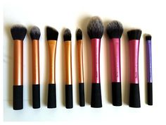 Real Technique brushes . I want everyone of these!