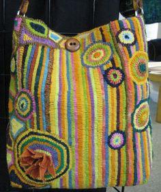 Fish Eye Rugs: purses