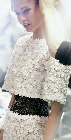 Chanel  Backstage * Haute Couture Spring 2014