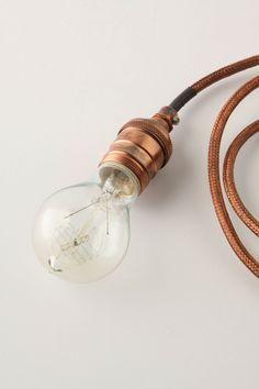 edison bulb @ anthro