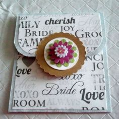 ... Pinterest Bridal Shower Gifts, Gift Card Holders and Wedding Gifts