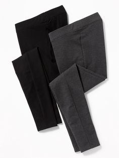 Maternity Front Low Panel Leggings 2-Pack | Old Navy