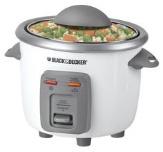 Amazon Deal Black & Decker 3 Cup Rice Cooker $12.68