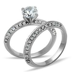 Affordable wedding ring sets on pinterest wedding ring for Do pawn shops buy stainless steel jewelry
