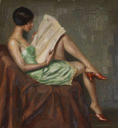 pintura de Hans Hassenteufel (1887-1943)