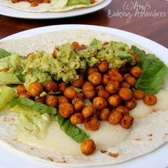 Amy's Cooking Adventures: Roasted Chickpea Tacos