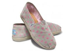 Super cute shoes for Valentine's Day.