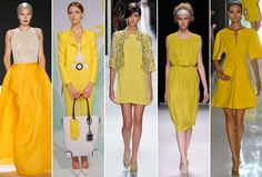 Spring 2013 Runway Trend: Yellow