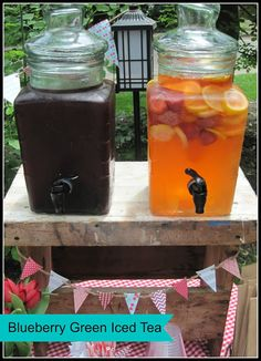 Blueberry Green Iced Tea Recipe