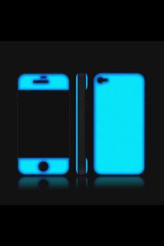 Glow in the dark iphone skin