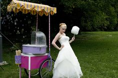cotton candy at my wedding? yes.