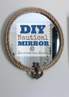 DIY Nautical Mirror
