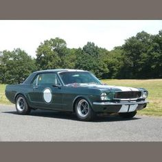 1965 Ford Mustang Competition Coupé