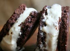 ice cream sandwiches, sandwich recipes, dessert