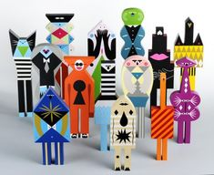 Арт дизайн игрушки