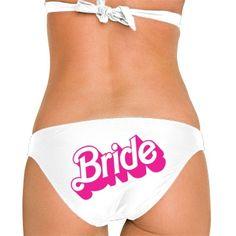 Neon Pink Bride  Omni Swimsuit Bikini Bottom $24.97 #bikini #bathingsuit #bride
