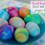 Pale Pastel Undyed Eggs - by @RobynHTV on @CraftFail