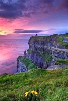 Cliffs of Moher, Ireland. dream destinations, place