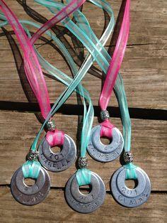 Troop necklaces - name and troop #
