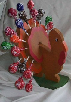 dessert tables, turkey decor, woodcraft, thanksgiv display, tabl thanksgiv