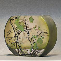Mary-Melinda Wellsandt | Glass sandblasted