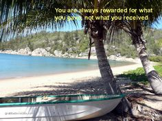 "Island called ""Magnetic Island""  (Affectionately known locally as ""Maggies"")        http://gratitude-rocks.com"