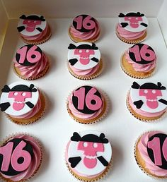 sweet sixteen party ideas Sweet 16 Birthday Cupcake ...
