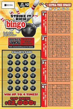 Strike it Rich bingo