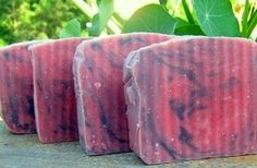 Luxuriously Natural Cool Peppermint Soap.  Will leave your skin feeling cool and refreshed.