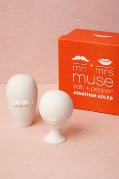 Parity Salt and Pepper Shakers $48