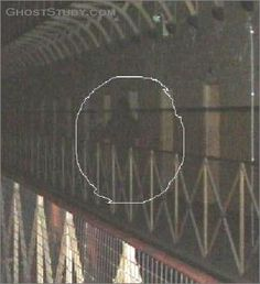 Shadow Ghost Photographed in an Australian Prison?  A woman claims she captured photographic evidence of a ghostly presence at the Old Melbo...