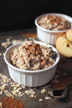 Overnight Apple cinnamon oats